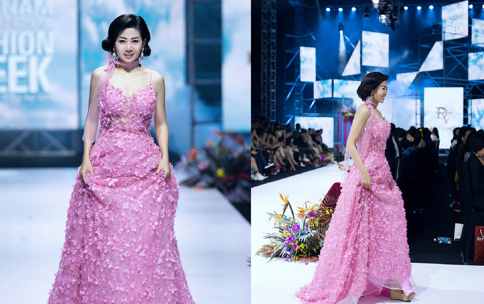 Đấu giá chiếc váy Mai Phương từng catwalk lúc mang bệnh để gây quỹ cho bé Lavie