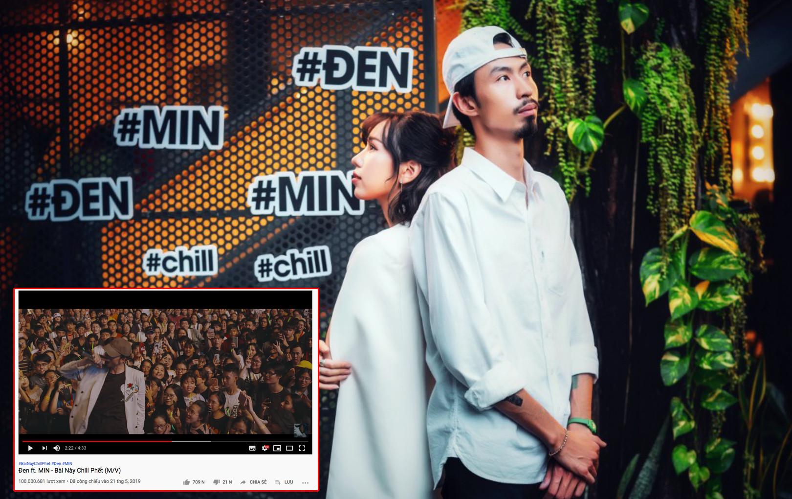 """Đen Vâu lần đầu tiên """"đút túi"""" MV đạt 100 triệu lượt xem trên YouTube"""