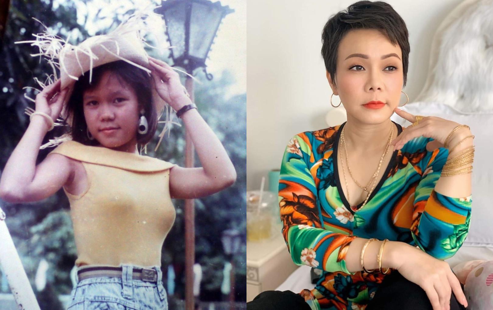 Lộ ảnh thời thiếu nữ cực hiếm của danh hài Việt Hương khiến ai cũng phải trầm trồ