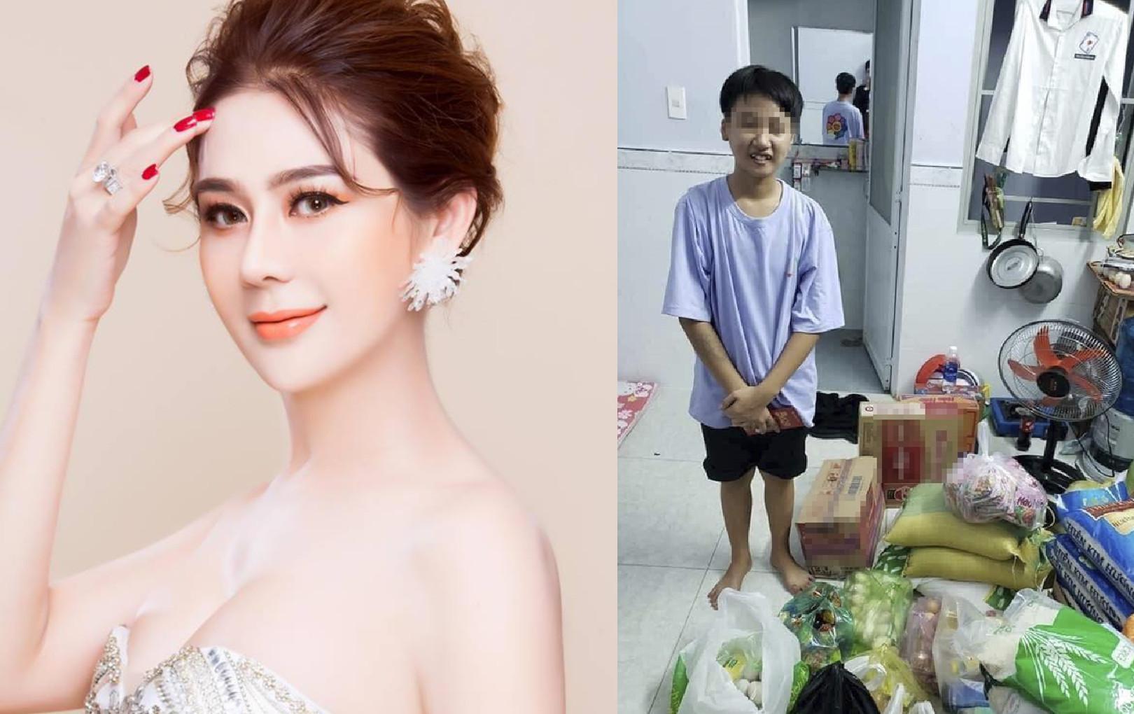 """Lâm Khánh Chi lên tiếng bênh vực cô gái LGBT bị từ chối nhận gạo: """"Chị sẵn sàng giúp em, bao nhiêu gạo cũng được"""""""
