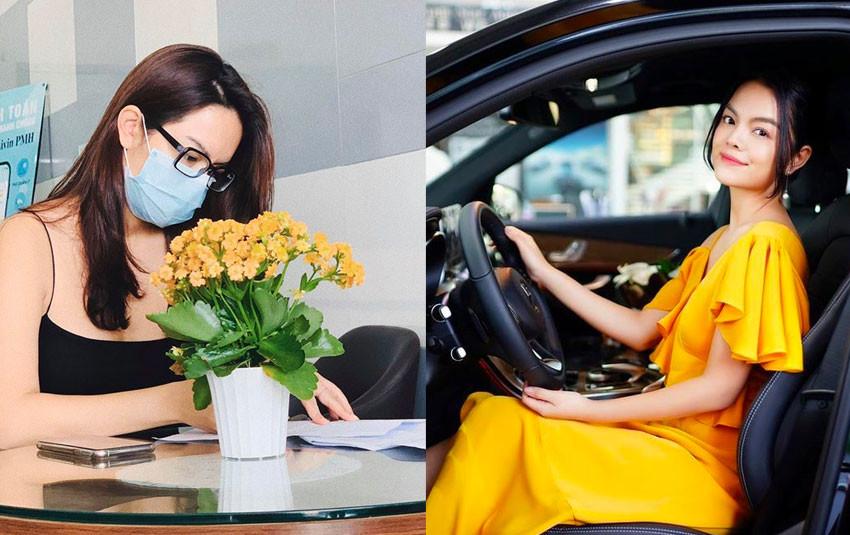 """Sau ly hôn, Phạm Quỳnh Anh mua nhà """"tậu"""" xe, sống hạnh phúc với các con và hòa đồng với chồng cũ"""