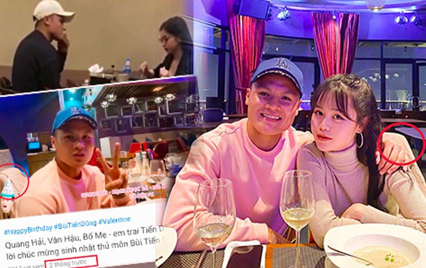 Quang Hải công khai giới thiệu Huỳnh Anh với bạn bè sau 4 ngày bị bắt gặp đi ăn riêng với Nhật Lê?