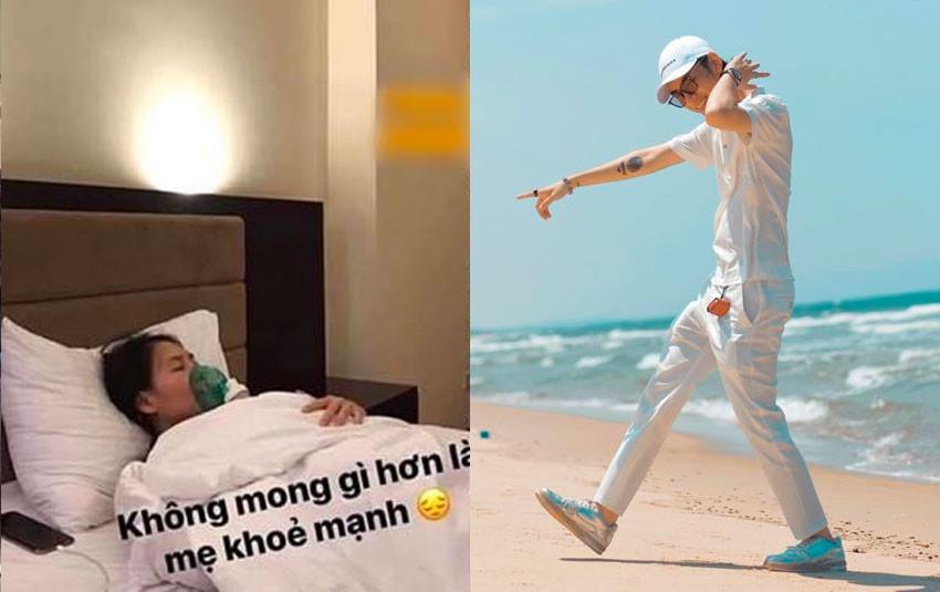 """Vừa đăng ảnh mẹ nuôi nằm viện, K-ICM đã chia sẻ hình đi chơi biển khiến CDM """"dậy sóng"""""""