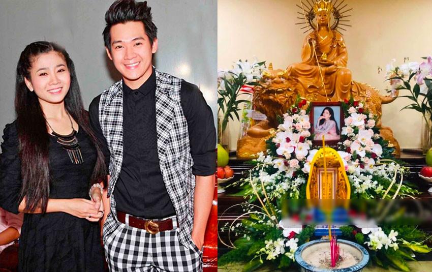 Đón Lavie về nhà nội, gia đình Phùng Ngọc Huy làm lễ 49 ngày cho cố diễn viên Mai Phương