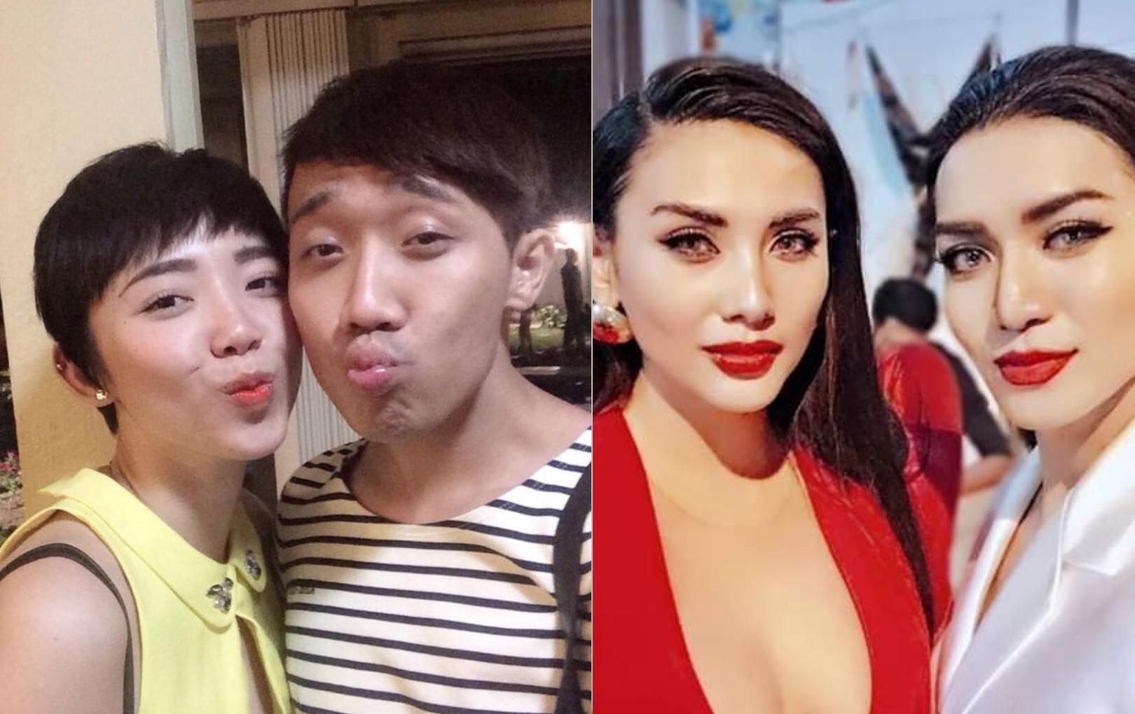 Những mỹ nhân Việt có phiên bản nam giống như chị em thất lạc, sốc nhất là Tóc Tiên - Trấn Thành
