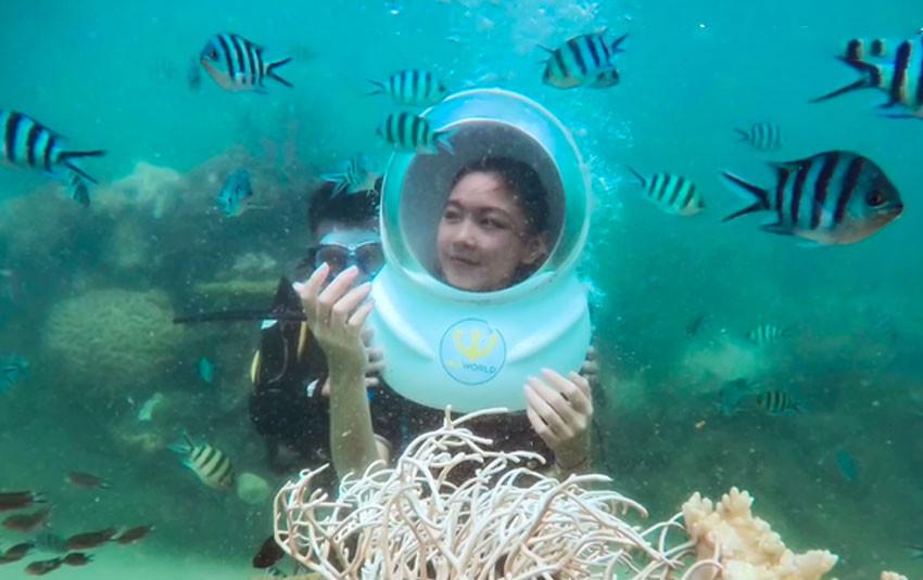 Với thần thái hoa hậu tương lai, hai cô con gái của MC Quyền Linh chiếm spotlight trong vlog du lịch của bố