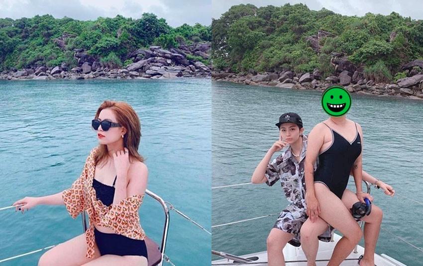 CDM soi ra bằng chứng cụ thể nhất chứng minh Gil Lê và Hoàng Thùy Linh đi du lịch cùng gia đình