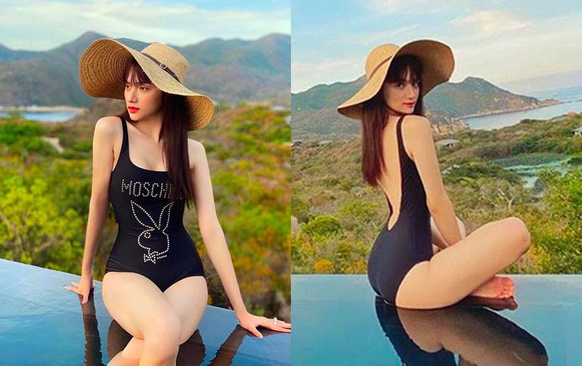 Hương Giang nóng bỏng trong trang phục bikini nhưng cân nặng có dấu hiệu đáng báo động