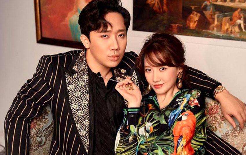 Mừng tuổi 35, Hari Won cùng ông xã Trấn Thành thực hiện bộ ảnh thần thái đầy tình cảm