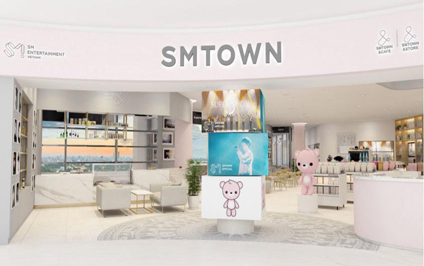 SM TOWN tổ chức sự kiện Sneak Peak, khai trương SMTOWN & STORE và SMTOWN & CAFÉ dành cho fan Việt