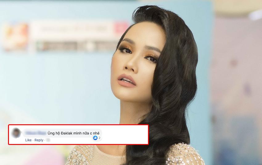 H'Hen Niê bị fan nhắc nhở ủng hộ quê nhà Đắk Lắk chống dịch Covid-19