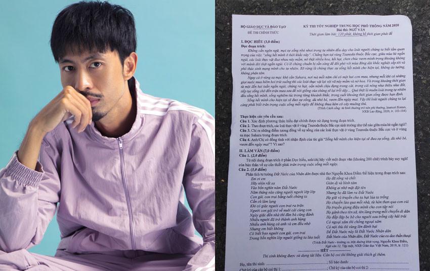 Thật bất ngờ, Đen Vâu đoán trúng phóc đề thi tốt nghiệp THPT Quốc gia 2020 môn Văn!