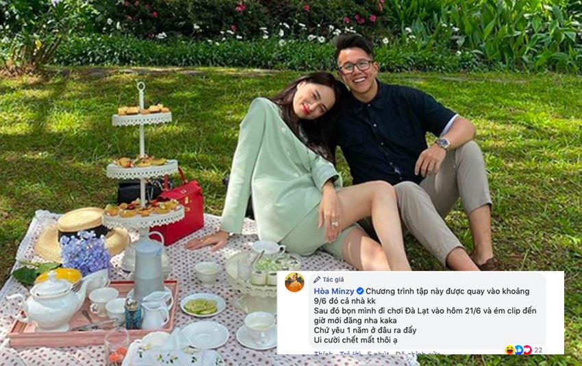 Hé lộ thời điểm Hương Giang - Matt Liu bắt đầu tìm hiểu để làm rõ tin đồn hẹn hò 1 năm