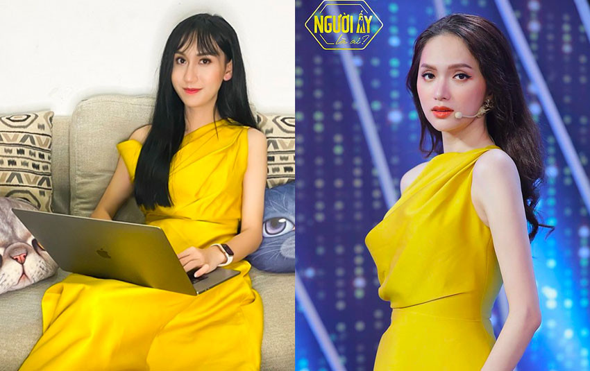 """Lynk Lee vô tình """"đụng hàng"""" Hương Giang cùng một chiếc váy: Ai xuất sắc hơn ai?"""