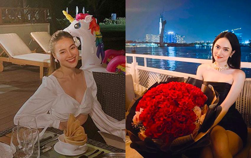 Đăng ảnh ăn tối lãng mạn, Lan Ngọc ghen tị vì điều ngọt ngào Matt Liu dành cho Hương Giang