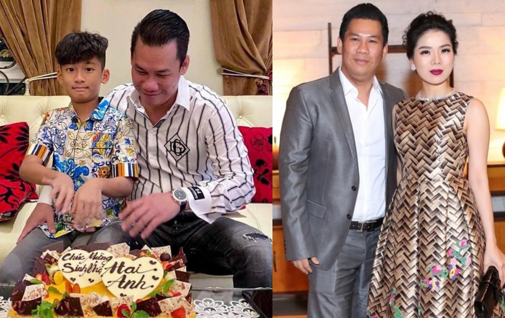 Chồng Lệ Quyên cùng con trai đón sinh nhật, tiếp tục dấy lên tin đồn hôn nhân tan vỡ?