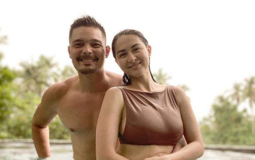 """Khoe khoảnh khắc tình tứ bên chồng nhưng vòng 1 """"siêu khủng"""" của """"mỹ nhân đẹp nhất Philippines"""" mới gây chú ý"""