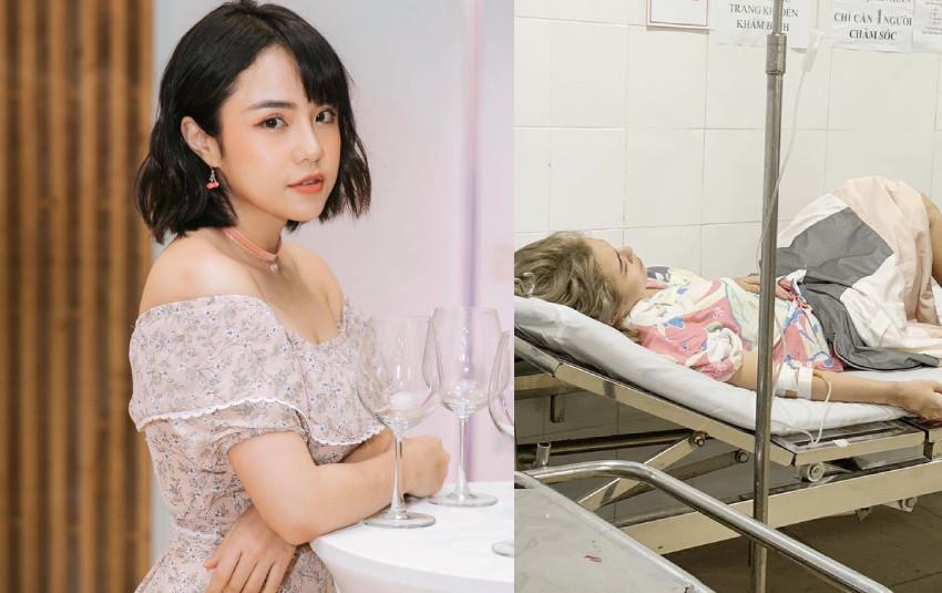 Thái Trinh và Phan Lê Ái Phương nhập viện khẩn cấp trong chuyến du lịch chung