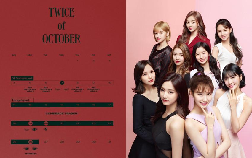 TWICE tiết lộ lịch trình kỷ niệm 5 năm nhưng ngay từ poster đầu tiên đã khiến Knet 'bức bối'