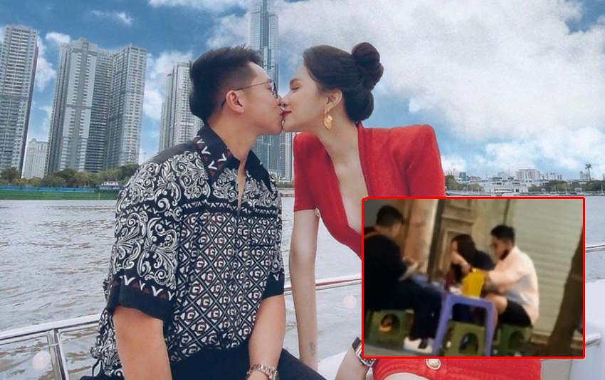 Hương Giang và Matt Liu lộ ảnh  tíu tít hẹn hò ở vỉa hè