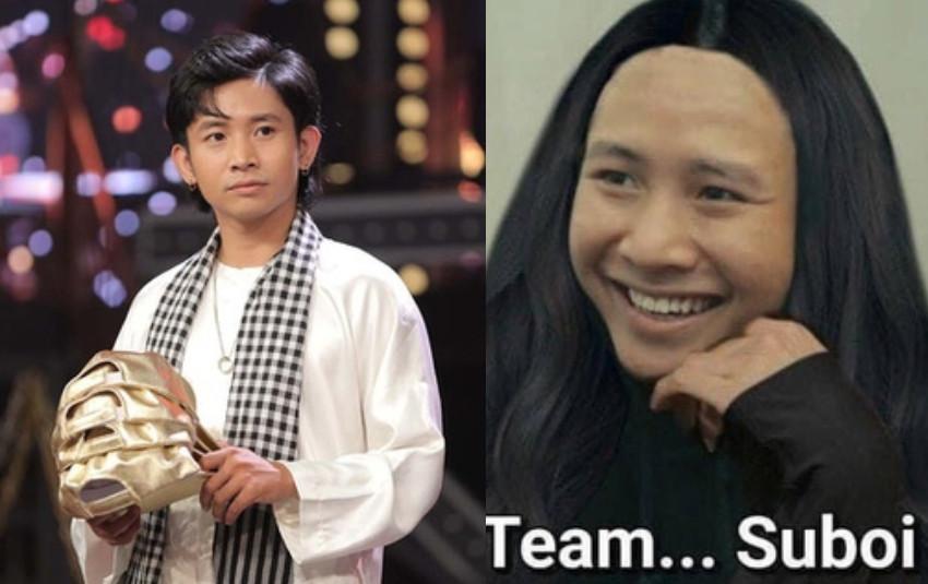 Cư dân mạng tung ảnh của Ricky Star nếu về đội Suboi & Wowy!