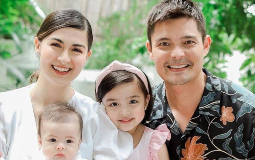"""Mỹ nhân đẹp nhất Philippines khoe ảnh gia đình """"sốc visual"""", bé Zia chiếm trọn spotlight"""