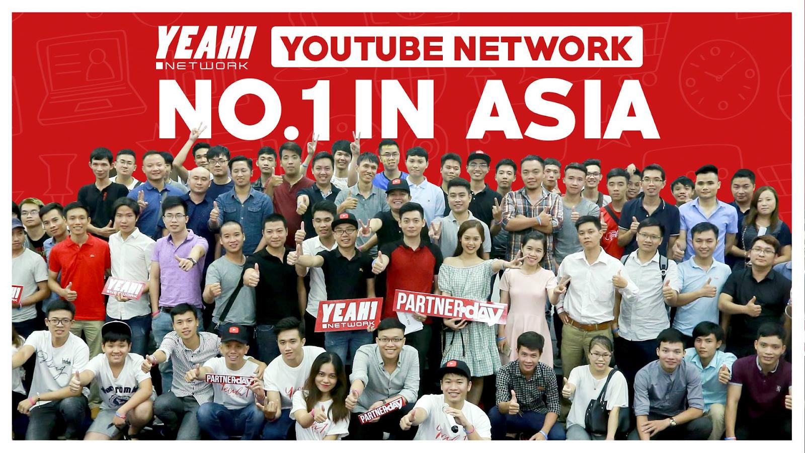Yeah1 Network tổ chức chương trình khủng dành cho cộng đồng Youtuber với tổng giải thưởng lên tới 500 triệu đồng