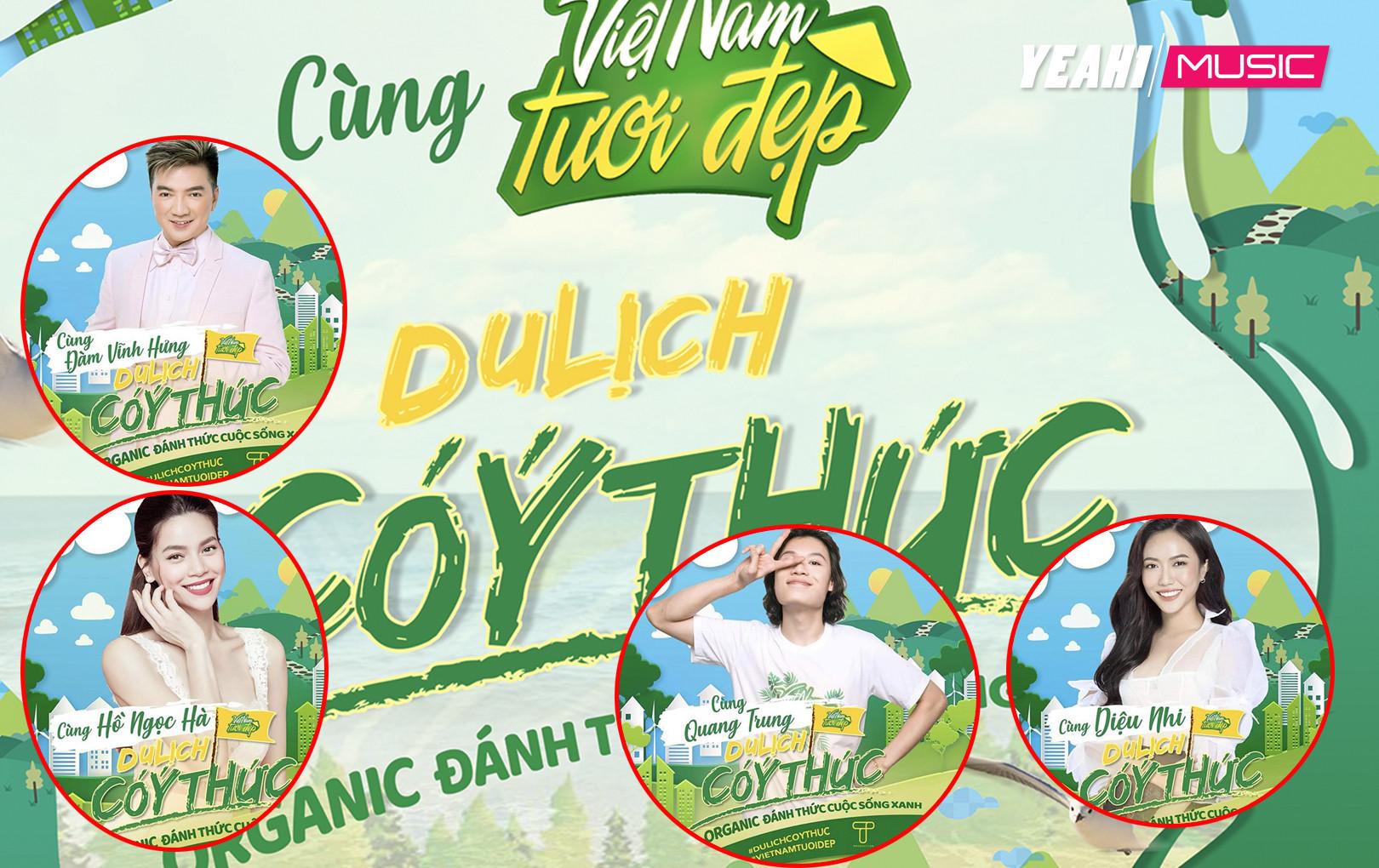 """Hàng loạt nghệ sỹ cùng Việt Nam Tươi Đẹp kêu gọi """"Du Lịch Có Ý Thức"""""""