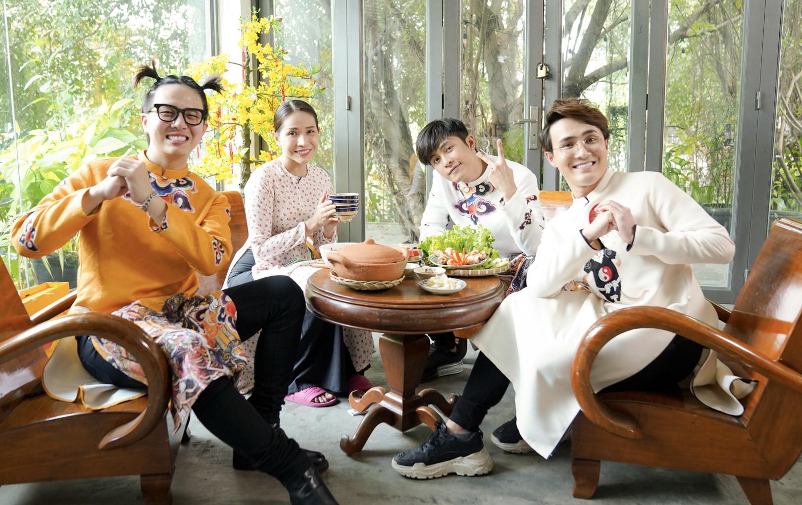 Khám phá bữa cơm Tết 3 miền cùng Gin Tuấn Kiệt, Khả Như, Duy Khánh