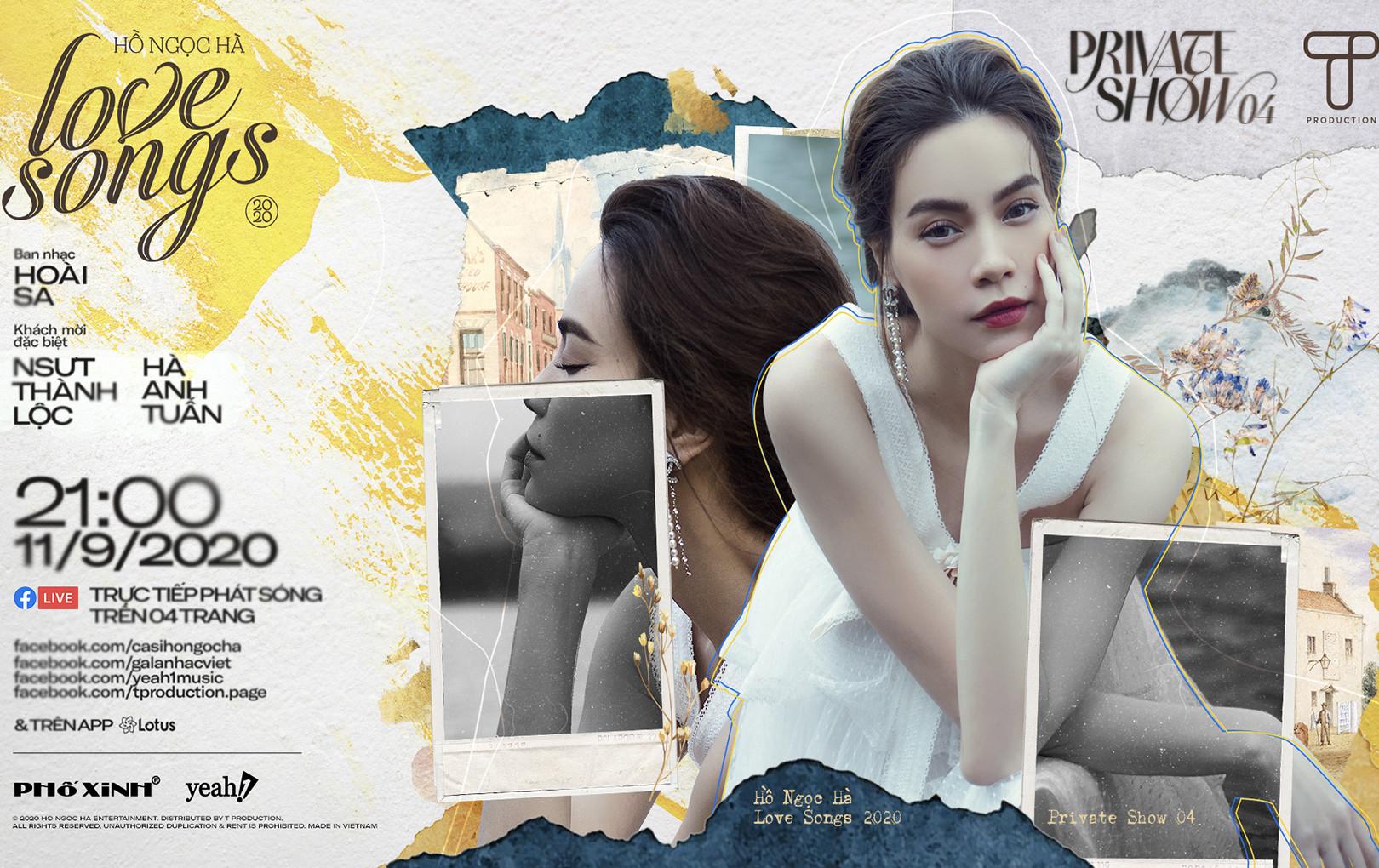 Hà Anh Tuấn, NSƯT Thành Lộc hội ngộ Hồ Ngọc Hà tại Private Show 04