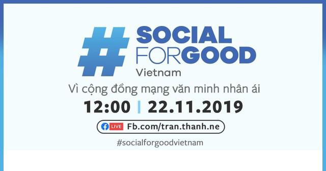 Trấn Thành cùng dàn sao Việt chung tay tổ chức sự kiện #SocialForGood lần đầu tiên tại Việt Nam