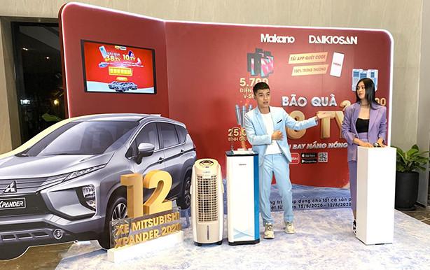 Daikiosan, Makano công bố khách hàng đầu tiên trúng phần thưởng lên đến nửa tỷ đồng