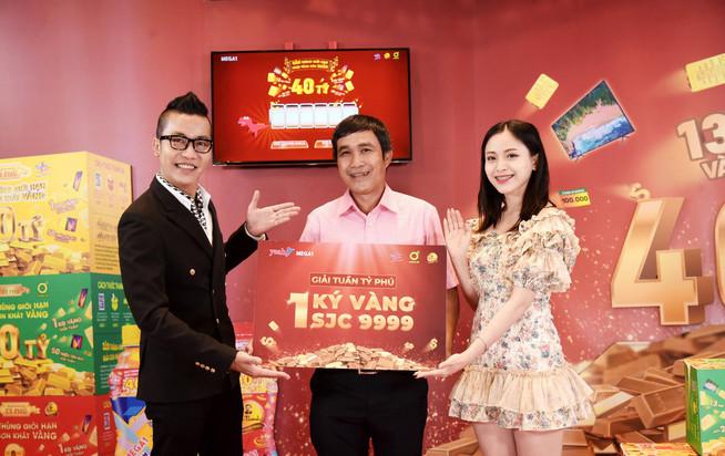 """Nhận lộc đầu năm cùng """"săn thùng trúng vàng"""" với giải thưởng 2kg vàng SJC 9999 từ Mega1"""
