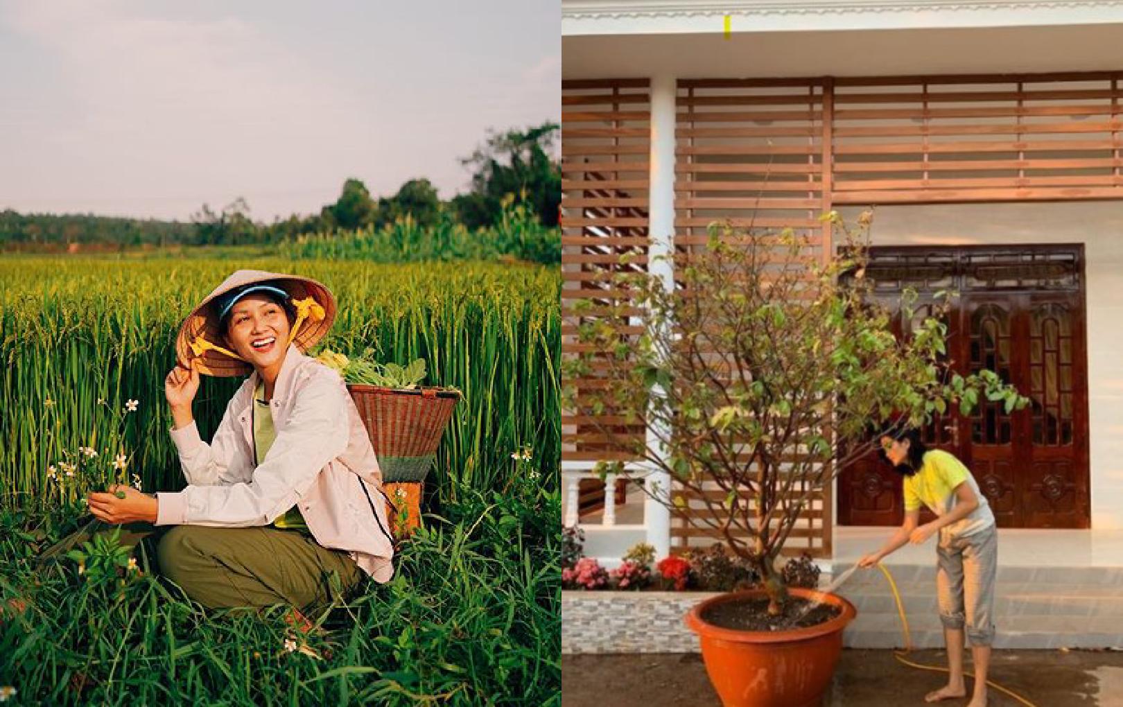 H'Hen Niê khoe ảnh nhà mới xây ở Đắk Lắk, dân tình còn bất ngờ hơn với một nhân vật nữa!