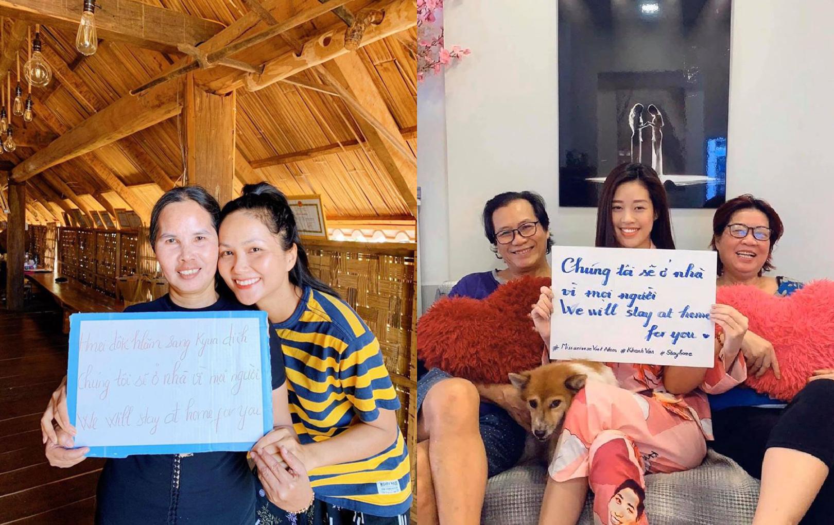 Cuộc sống của H' Hen Niê, Khánh Vân, Việt Anh và Xuân Lan giữa tâm dịch Covid-19