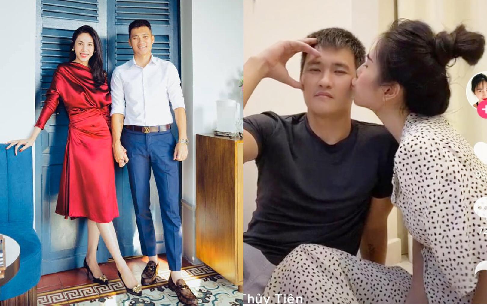 'Đỏ mặt' khi xem clip Thuỷ Tiên hôn tới tấp Công Vinh