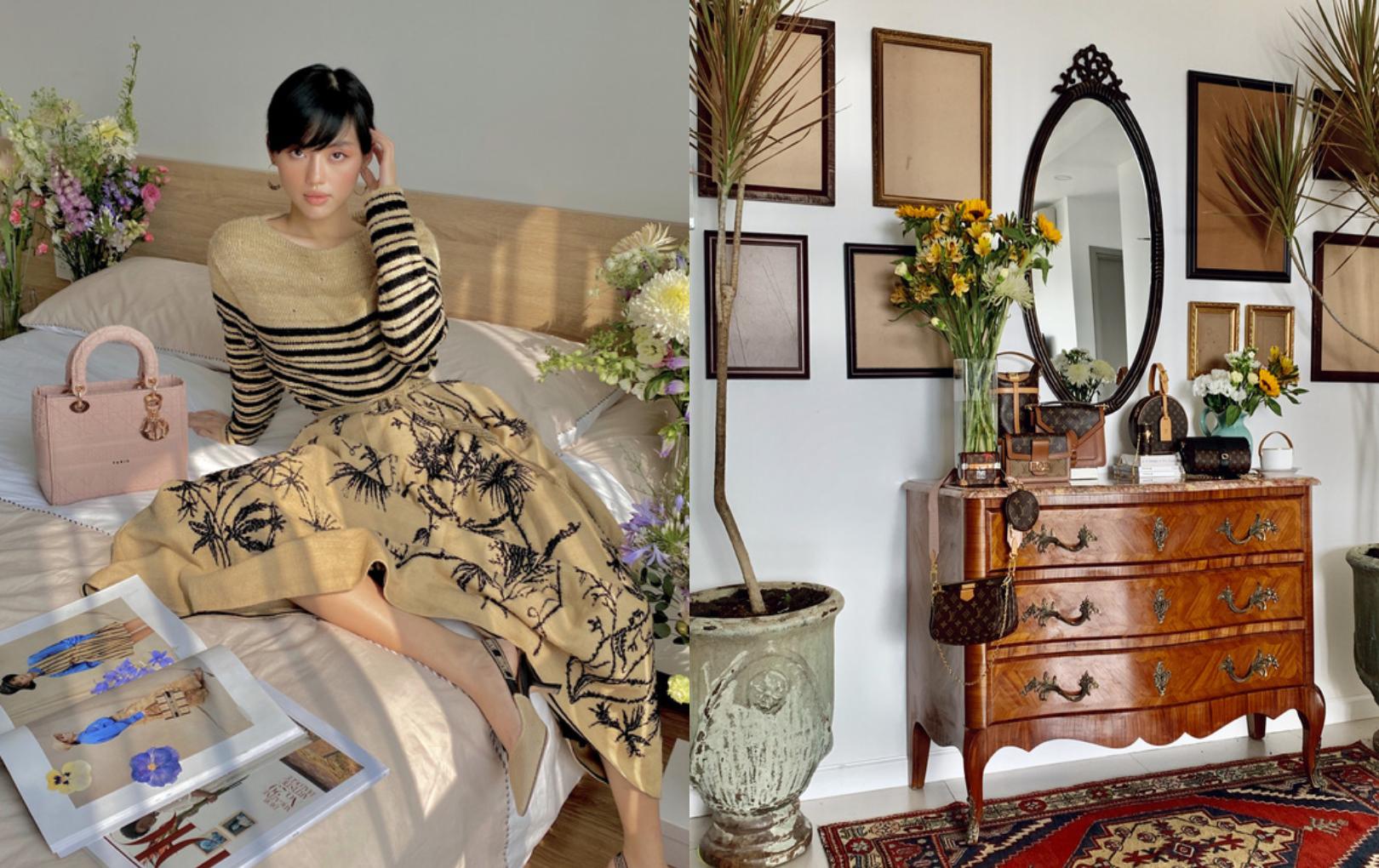 Nhà thuê nhưng Khánh Linh vẫn chi tới 400 triệu tiền decor, tủ mua tít bên Pháp mất 3 tháng mới ship về đến nơi