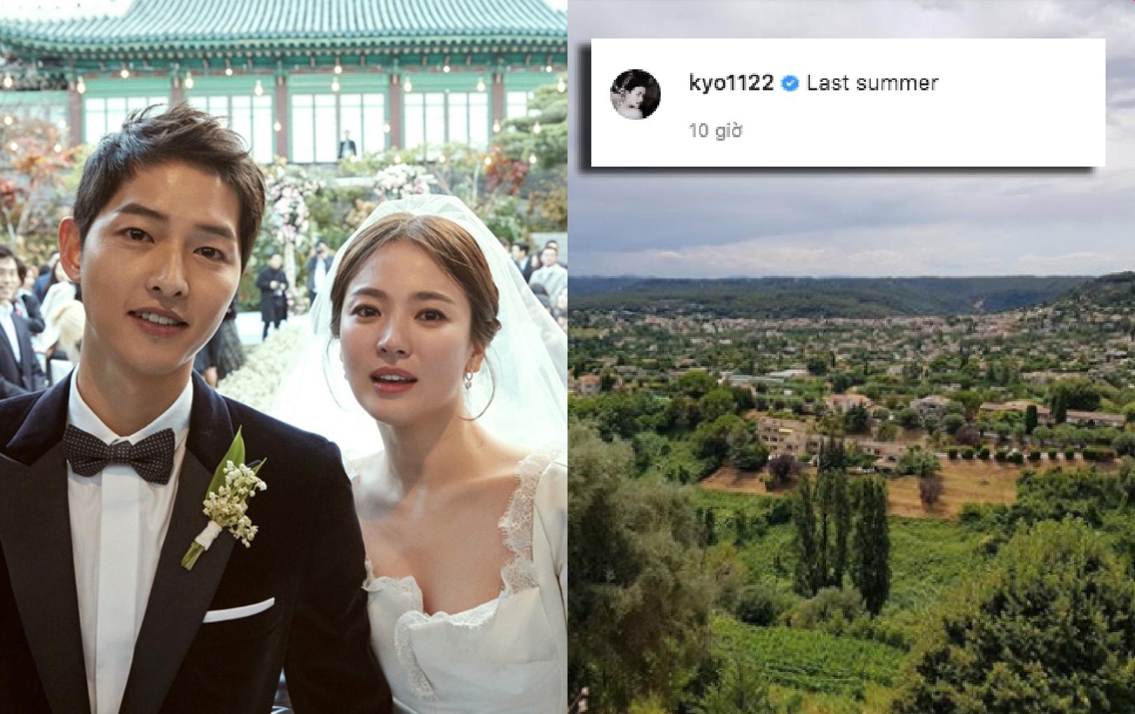 Song Hye Kyo đã có động thái đầu tiên sau tin tái hợp Hyun Bin, nhưng chú thích như ám chỉ Song Joong Ki thế này?