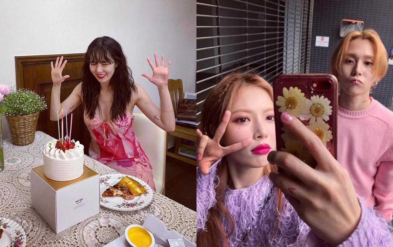 HyunA - E'Dawn kỷ niệm 5 năm yêu nhau trong hạnh phúc