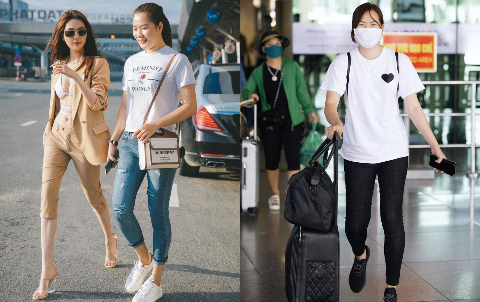 """Còn ai """"ngầu"""" hơn Ngọc Trinh: cho trợ lý cùng đi du lịch xa xỉ, nay còn cùng chụp ảnh street style"""