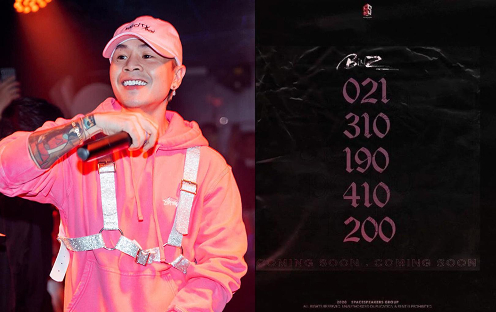 """Binz tung dãy số bí ẩn """"nhá hàng"""" comeback, fan soi ra chi tiết liên quan đến Châu Bùi"""
