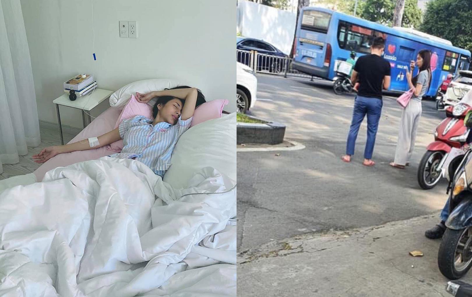 Netizen vô tình chộp được hình ảnh Thuỷ Tiên 'ốm tong teo khó nhận ra', fan xôn xao lo lắng cho sức khoẻ của nữ ca sĩ