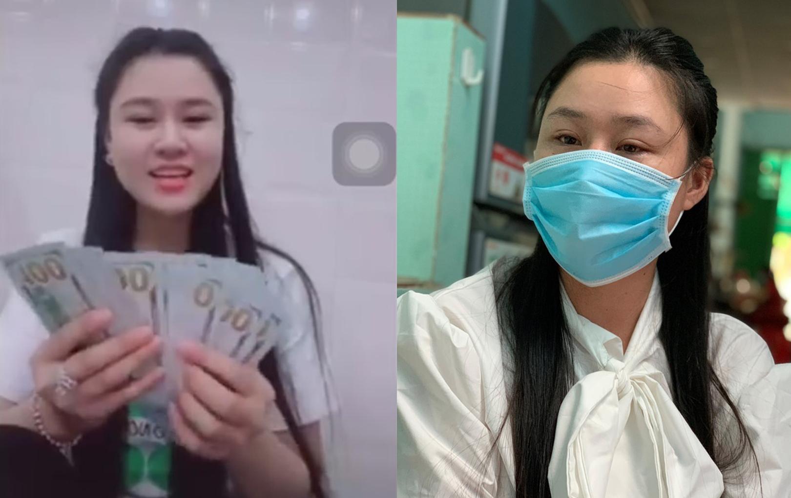 Vợ hai cố NS Vân Quang Long bị khui lại khoảnh khắc vui vẻ khoe tiền sau lùm xùm giả tạo, ham vật chất, xúc phạm chồng