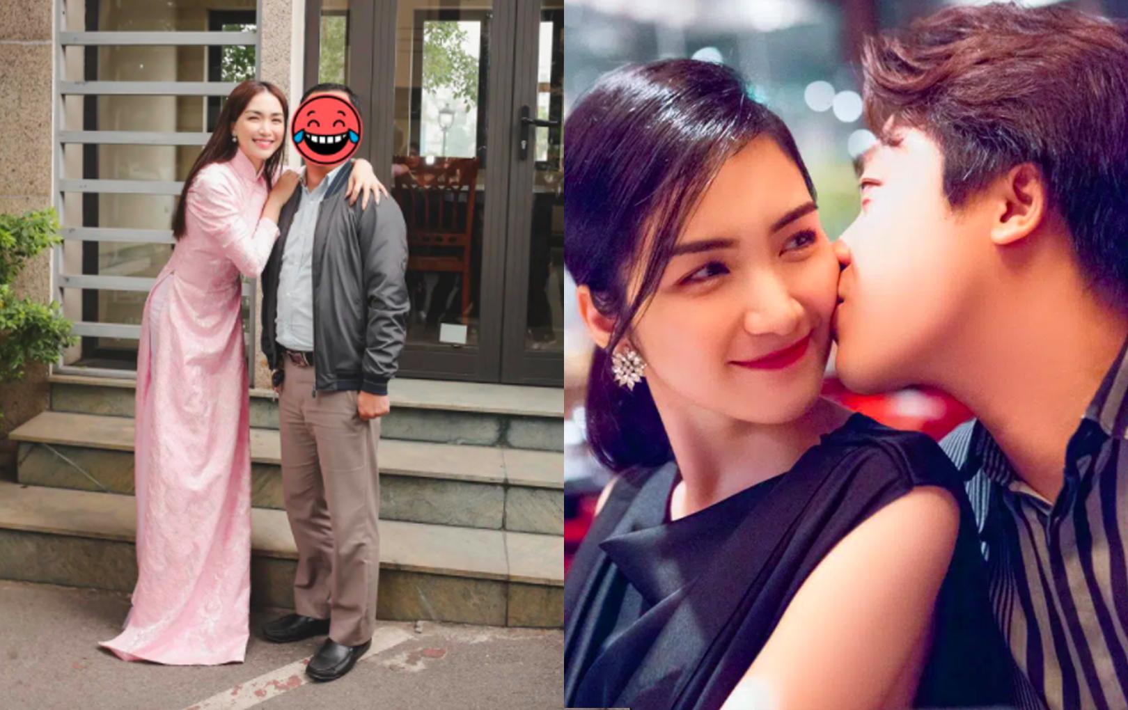 """Dở khóc dở cười Hoà Minzy phải giải thích vì bạn trai đại gia bị nhận nhầm, ai dè lộ chi tiết thừa nhận người ấy là """"chồng""""?"""