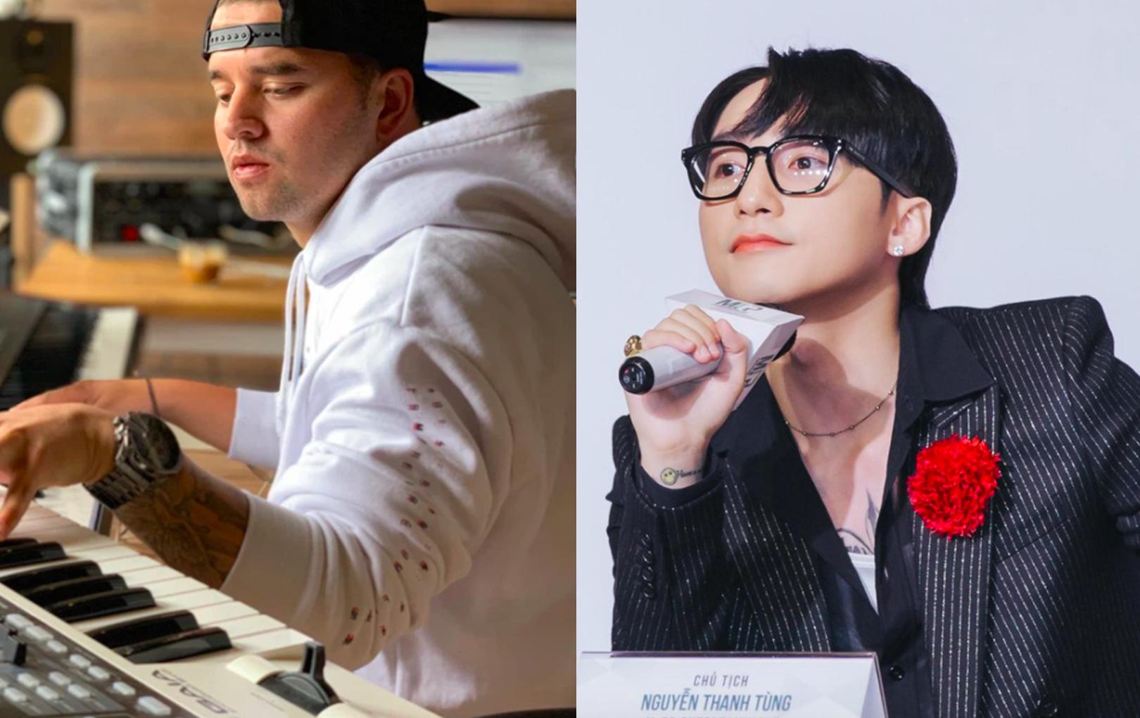 """Hai producer tố Sơn Tùng M-TP đạo nhạc bất ngờ kết hợp, mới nghe tên ca khúc đã thấy """"sai sai"""""""