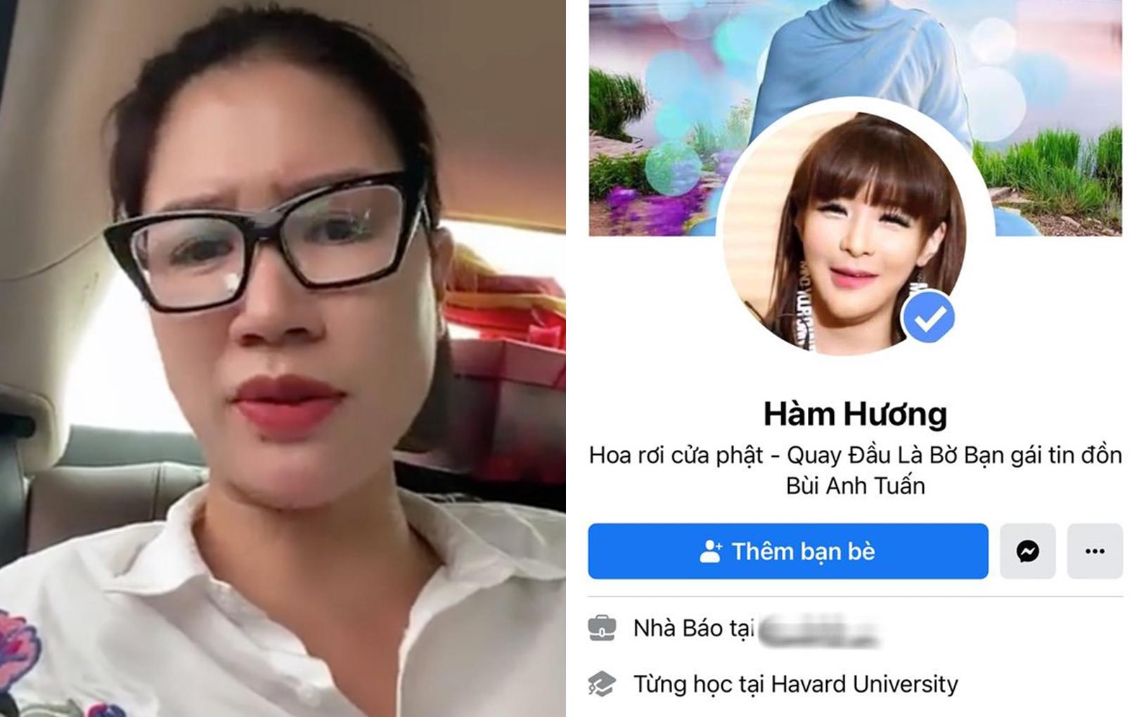 """""""Thánh comment dạo"""" Hương Hàm bất ngờ tố Trang Trần thuê người đóng giả để quay video """"ra oai"""""""