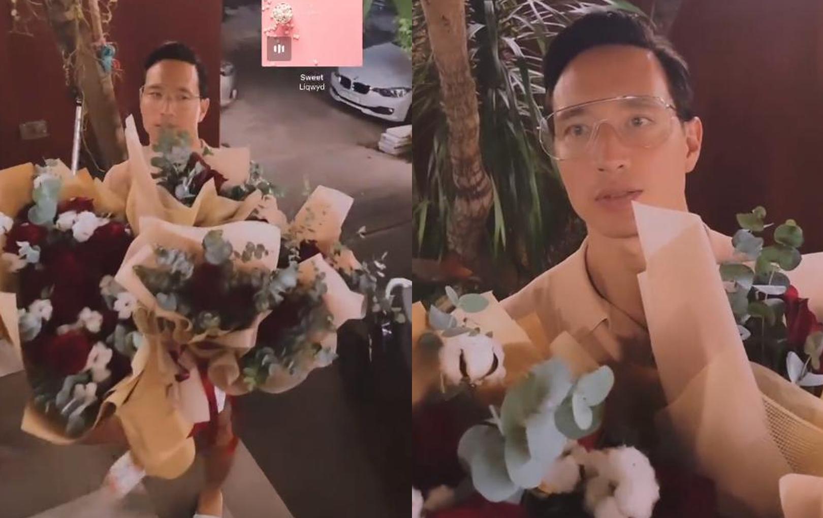 Hé lộ khoảnh khắc Kim Lý cố gắng chúc mừng 8/3 bằng tiếng Việt, song sự cố đầu clip mới gây chú ý cực mạnh