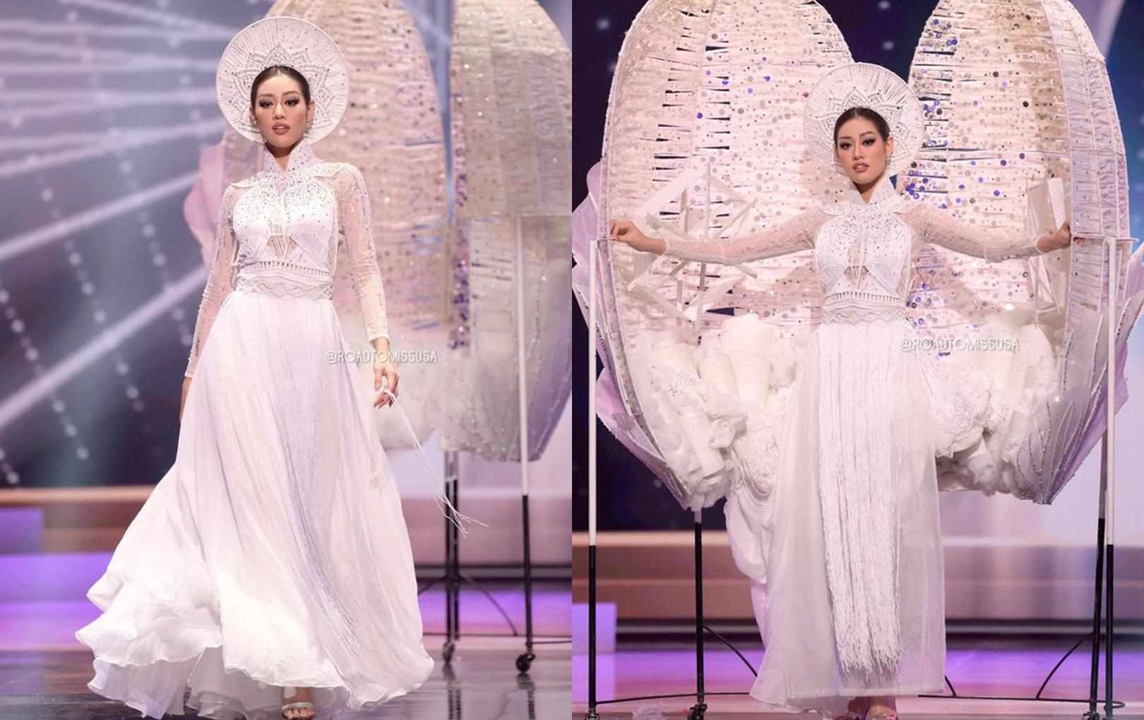 Đương kim Hoa hậu Hoàn vũ chia sẻ gây chú ý về màn trình diễn trang phục dân tộc, đại diện Việt Nam - Khánh Vân cũng được nhắc tên
