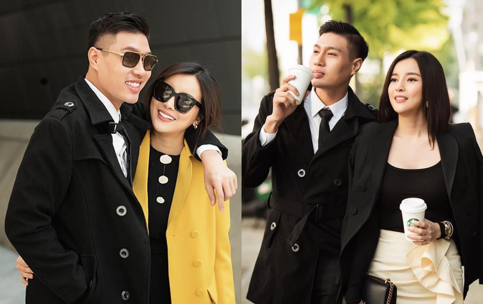 Cao Thái Hà nghẹn ngào mừng sinh nhật cố người mẫu Đức Long