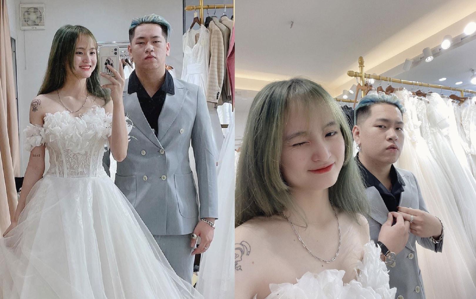 Streamer đình đám Alice khoe ảnh cưới với nam chính sau vụ lộ clip gây bão MXH
